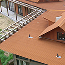 Corten Rusted Roofing