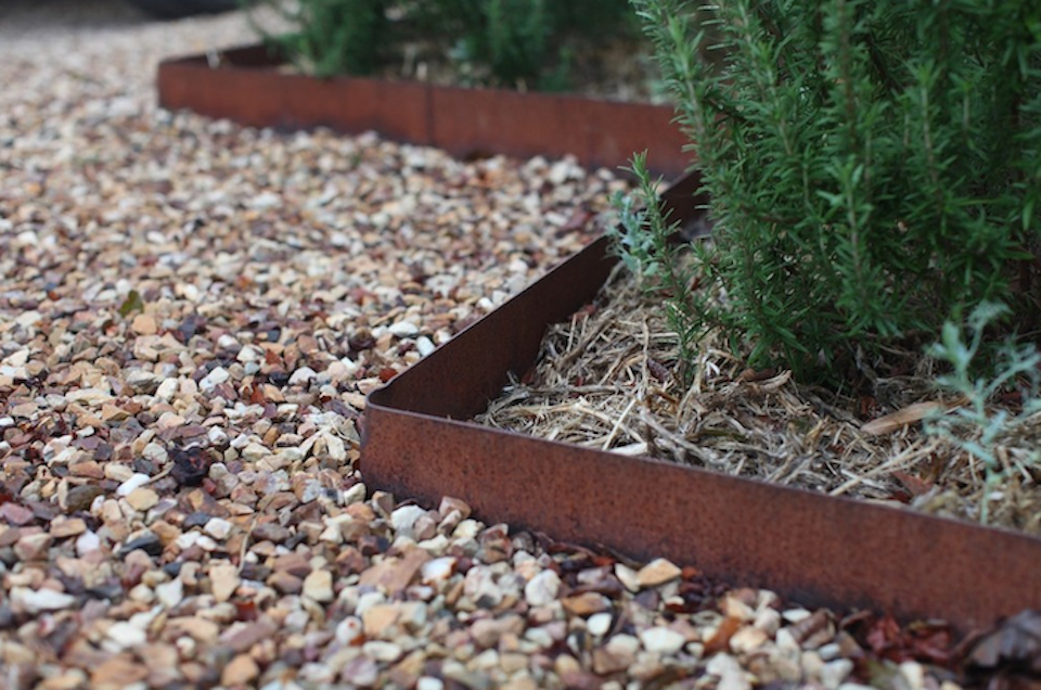 Corten Landscape Edging And Garden Borders At