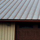 Metal Roofing Panels Painted to Look Like Real Copper